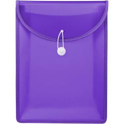Marbig Document Wallet A4 Top Load Violet