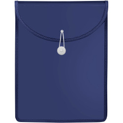 Marbig Document Wallet A4 Top Load Navy