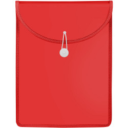Marbig Document Wallet A4 Top Load Red