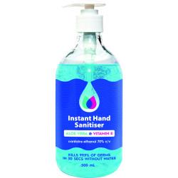 Visionchart Hand Sanitiser Gel 500ml 70% Ethanol
