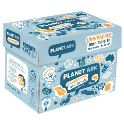 Planet Ark Copy Paper Recycled UNWRAPPED  A4 80gsm Box of 2500