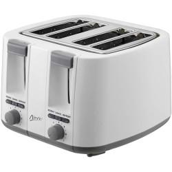 Nero 4 Slice Toaster Glossy White