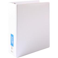 Bantex Insert Binder A4 4D 65mm White