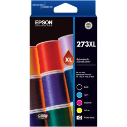 EPSON INK CARTRIDGE 273XL High Yield Value Pack of 5
