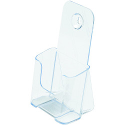 Deflect-O Brochure Holder DL Single Tier Free Standing And Wall Mount