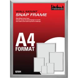 DEFLECTO MANHATTAN SNAP FRAMES A4 82504