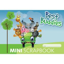 Writer Premium Best Buddies Scrap Book Mini 165x240mm 100gsm 64 Pages