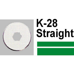 CARL K-28 STRAIGHT CUTTER FOR DC230 DC210 K28
