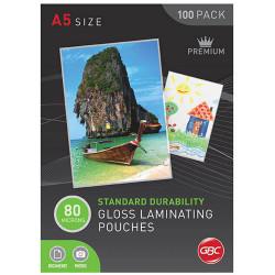 A5 LAMINATING POUCH 80 MICRON BOX 100 BL80MA5