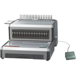 QUPA D160 COMB BINDING MACHINE Electric Punches 25sht binds up to 500shts