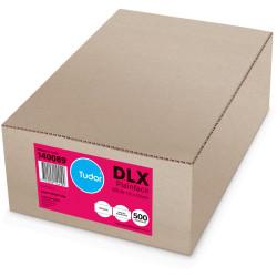 Tudor Plain Envelope DLX Press Seal White Box Of 500