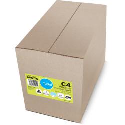 Tudor Window Face Envelope C4 Peel N Seal Secrective Position 5 Box of 250