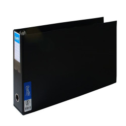 Bantex Binder A3 4D 65mm Landscape Black