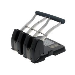REXEL 4 HOLE POWER PUNCH 150Sht Cap Black