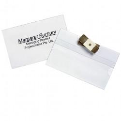 MAGNETIC BADGE HOLDER PACK 10 MAGNETIC     REXEL 98600 PK10