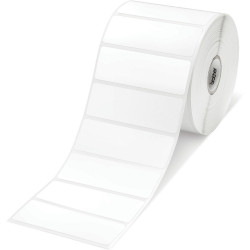 Brother RD-S04C1 Printer Label Die Cut 76x25mm White