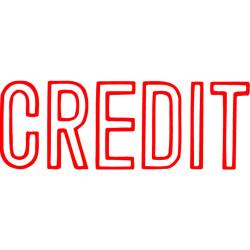 XSTAMP CX-C CREDIT RED 1019