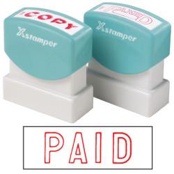 XSTAMPER CX-B PAID RED 1005