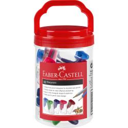 Faber-Castell Sharpener Single Hole Jar Of 40