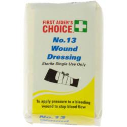 TRAFALGAR WOUND DRESSING FAC Wound Dressing No.13