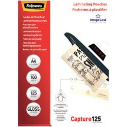 Fellowes® Laminating Pouches A4 125 Micron