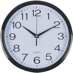 Italplast Wall Clock 43cm - Black Trim