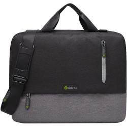 Moki Odyssey Satchel Fits up to 15.6inch Laptop Black / Grey